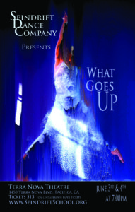 """Spindrift Dance Company Presents: """"What Goes Up"""" @ Terra Nova Theatre 